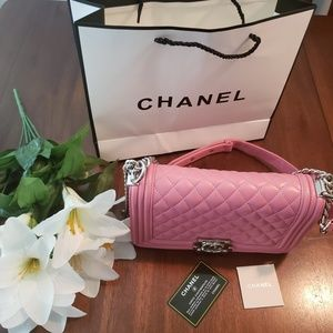 Chanel Boy Quilted Handbag